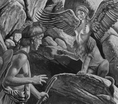 oedipus-encountering-the-sphinx-roger-payne