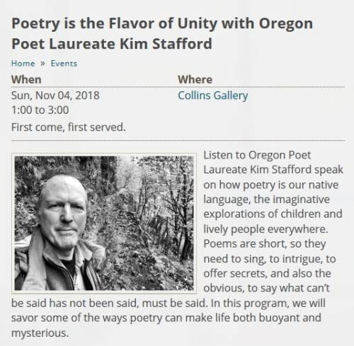 Poetry is the Flavor of Unity